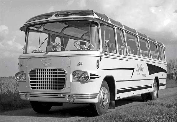 1957 DAF B1500 P533 König Perkins bus-19