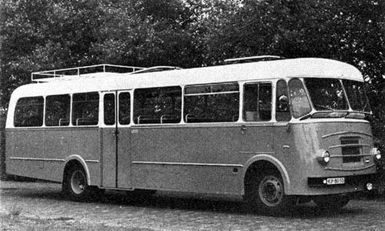 1957 DAF B1500DL 1