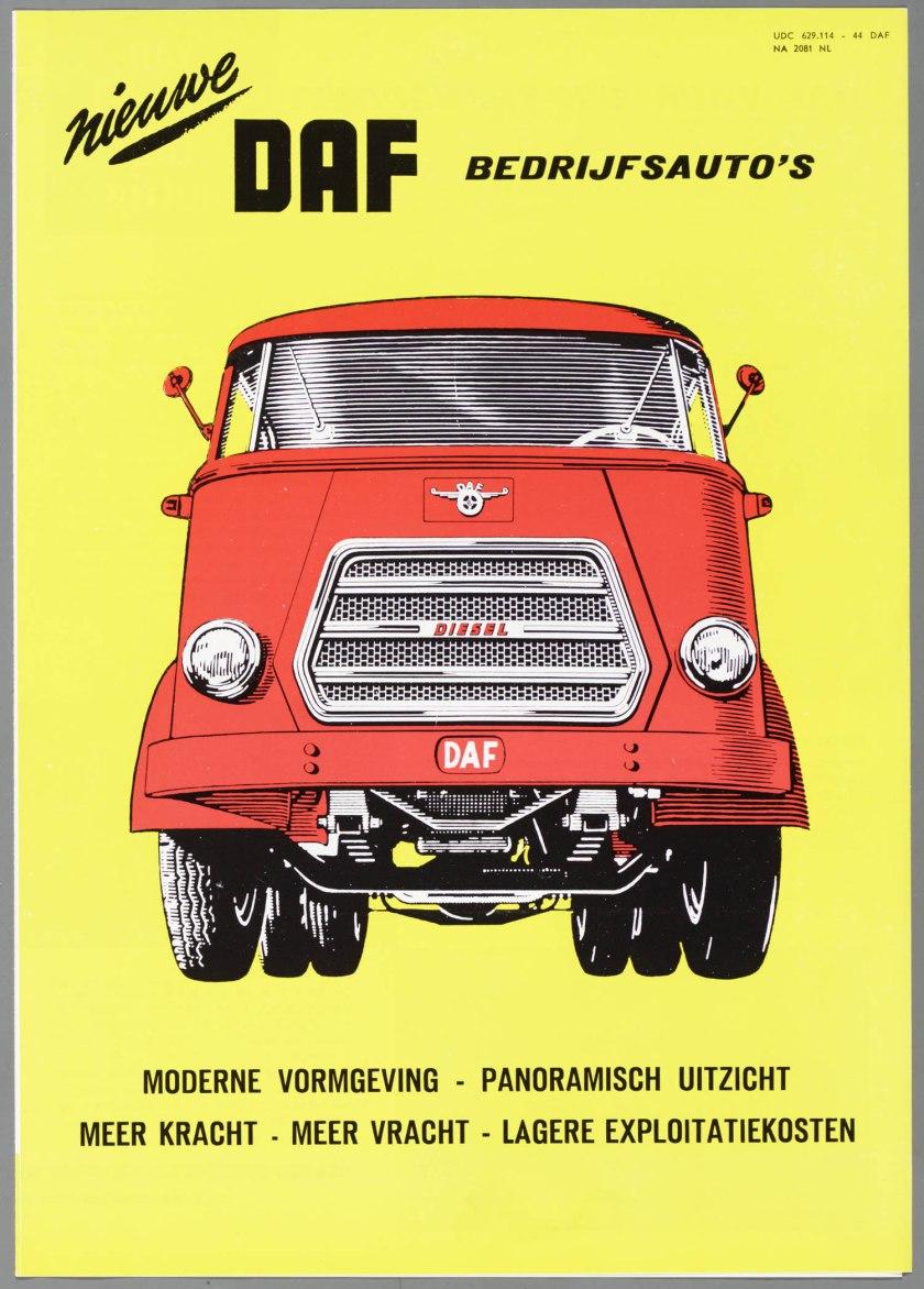 1957 DAF Bedrijfsauto's