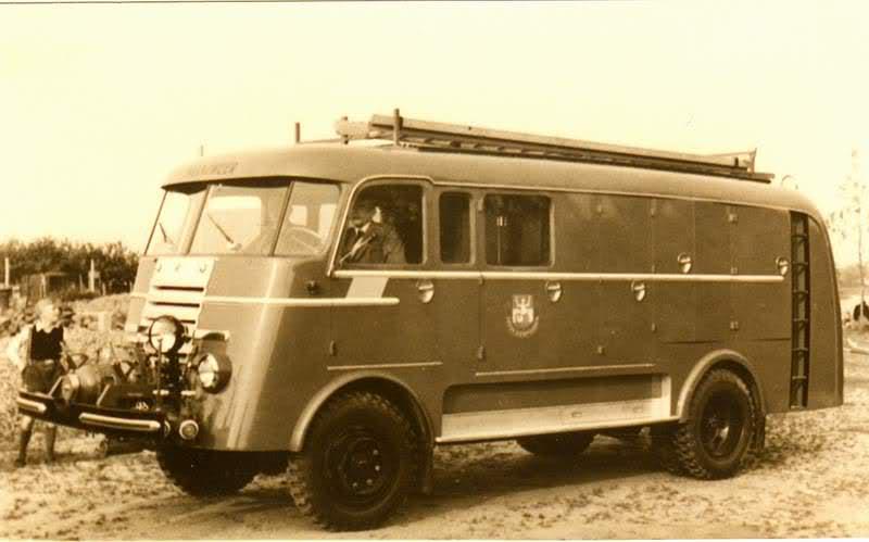 1957 DAF Brandweer Army