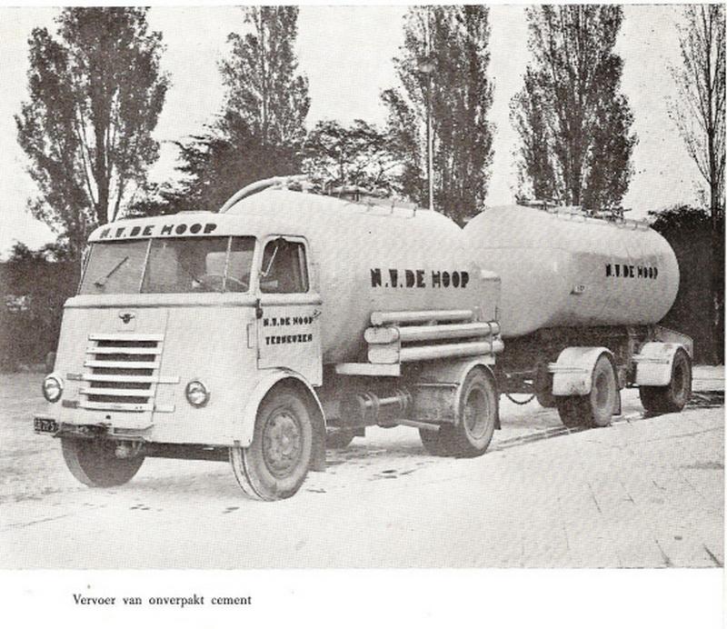 1957 DAF Cementwagens