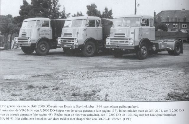 1957 DAF DO 2400 x 3generatiesdaf