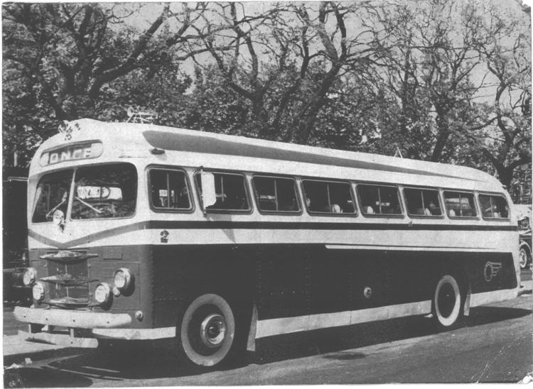 1957 DAF - El Trébol - Línea Expreso Liniers