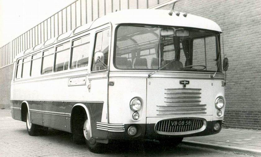 1957 DAF VAN HOOL Jac de Groot 11
