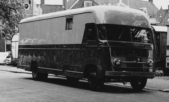 1957 DAF Verhuiswagen