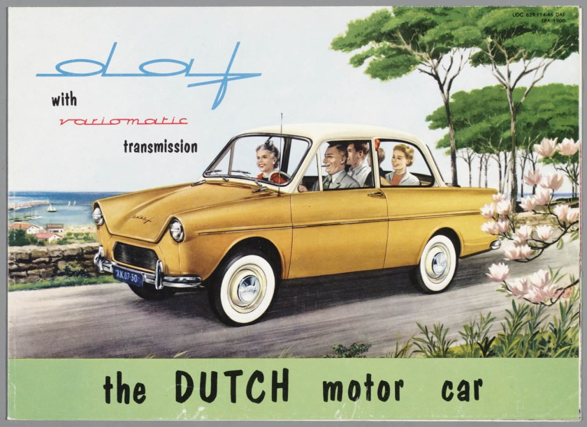 1958 DAF 600 with varimatic transmission a