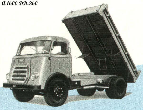 1958 DAF A1600DD-360