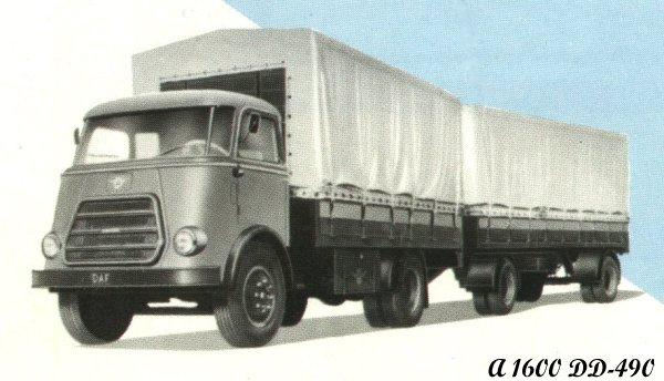 1958 DAF A1600DD-490