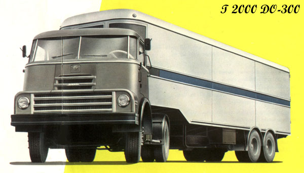 1958 DAF T2000DO-300