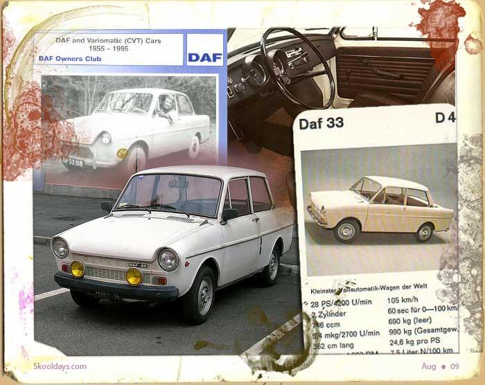1959 DAF 33 Ad D4