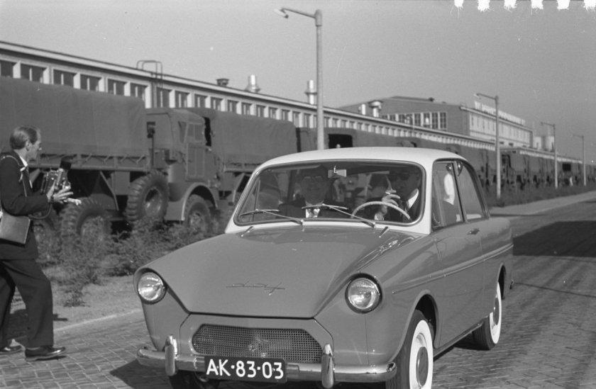 1959 DAF 600 in 1959 Prins Bertil