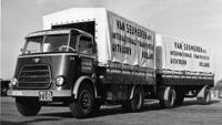 1959 DAF De 1100 1300 en 1500modellen krijgen een facelift, maar profiteren tevens van de nieuwe motoren