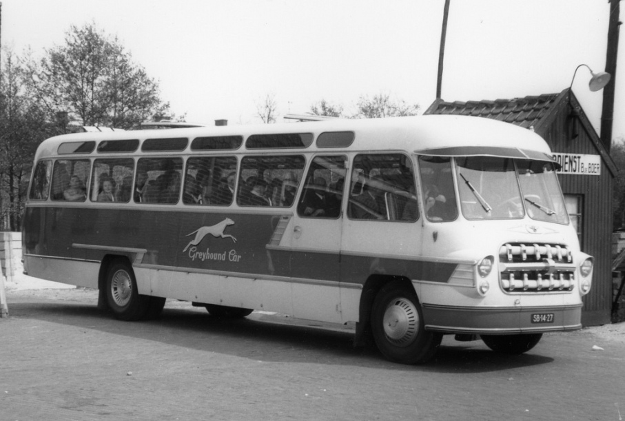 1959 DAF Greyhound Cars Nederland