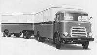 1959 DAF      Introductie van de 1800-serie met DS575-dieselmotor voorzien van turbocompressor.