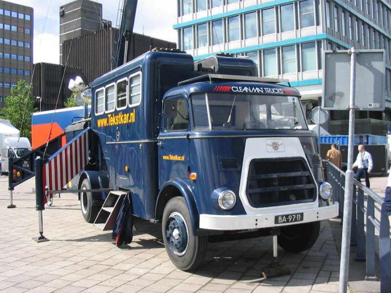 1959 DAF meetwagen