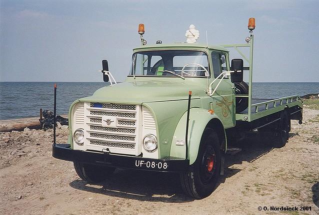 1959 DAF T 13 Torpedo Autotransporter UF