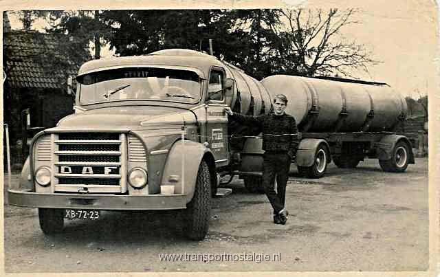 1959 Daf tankcombi Veenendaal