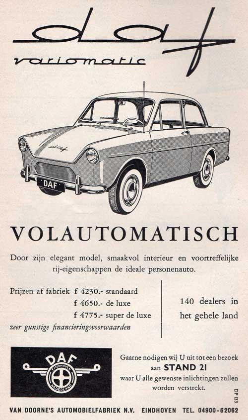 1960 Daf 02-doorne Reclame