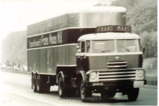 1960 DAF 2000 DO oplegger