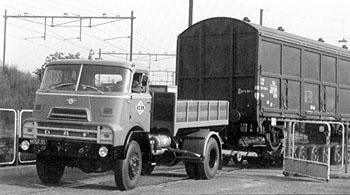 1960 daf 2000 do spoorwagen