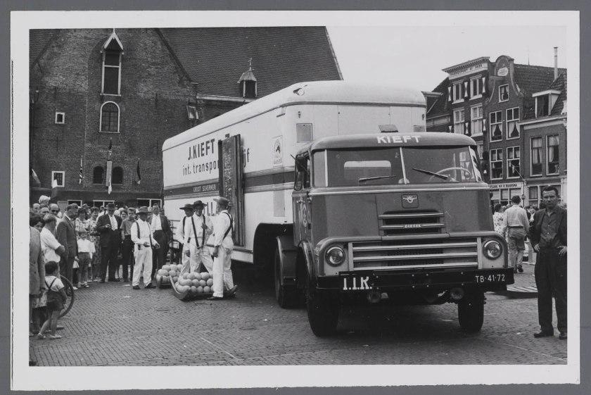 1960 DAF 2000DO trekker Alkmaar 1960
