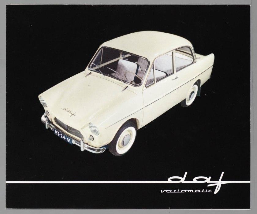 1960 DAF 33 Brochure