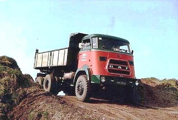 1960 Daf 6x6 160pk met turbo