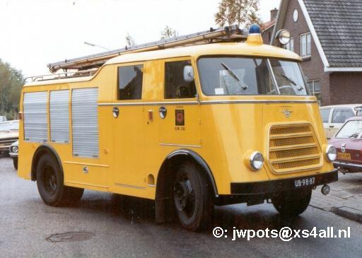 1960 DAF Brandweer Ederveen