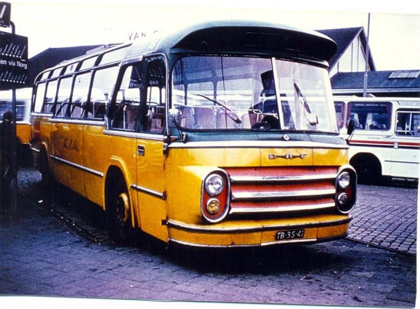 1960 DAF ESA 117 Groenewold Verbouwd voor lijndiensten