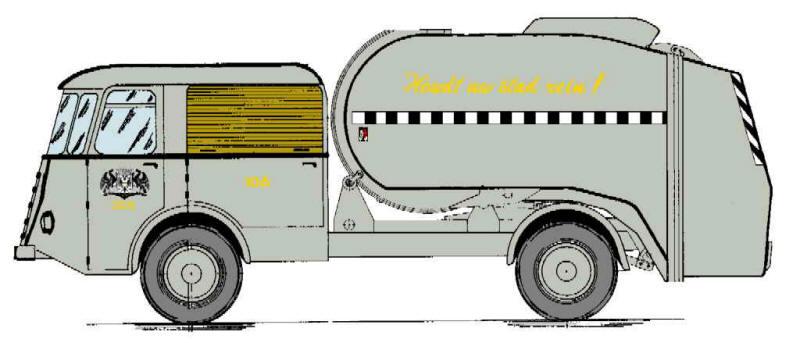 1960 DAF ROLTROMMEL 106
