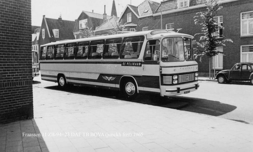 1960 DAF TB BOVA Jonckheere