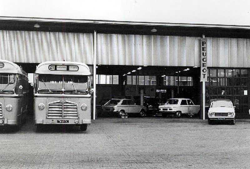 1960 DAF TB160 DAF DD520 carr Den Oudsten LADO 31