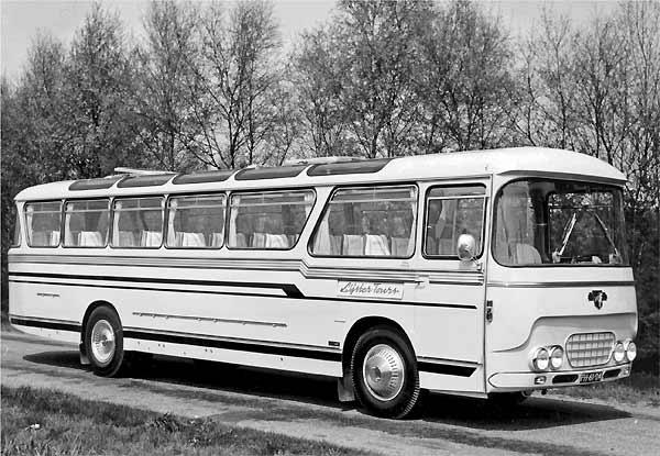1960 DAF TB160DS520 Jockheere bus-22-23
