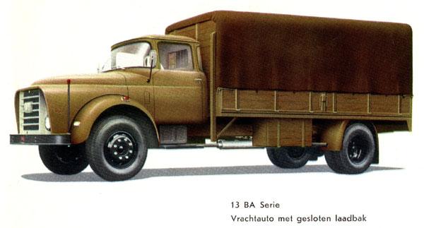 1961 DAF 13BA