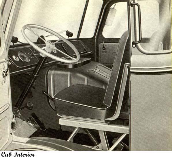1961 DAF Interior