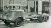 1961 DAF  Introductie van de AS 2000 DO, een nieuw model met naloopas, bedoeld voor zwaar transport