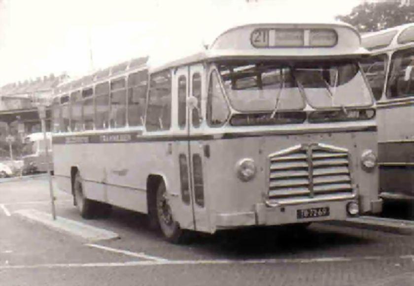 1961 DAF TB160 DAF DD520 carr Den Oudsten nr 11