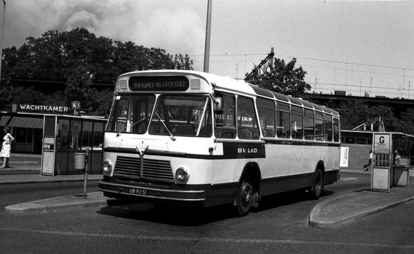 1961 DAF Verheul  UB 92 51