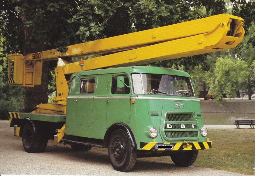 1962 daf 1600 truck hoogwerker