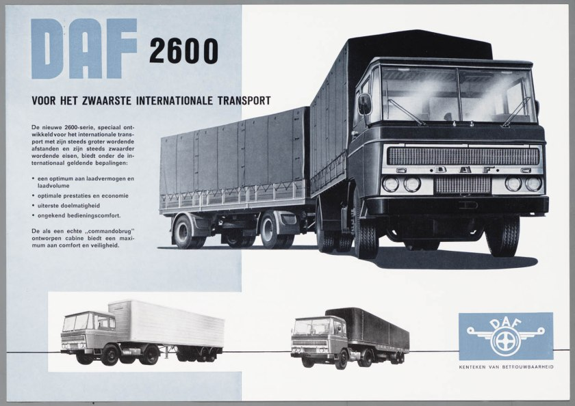 1962 DAF 2600 a