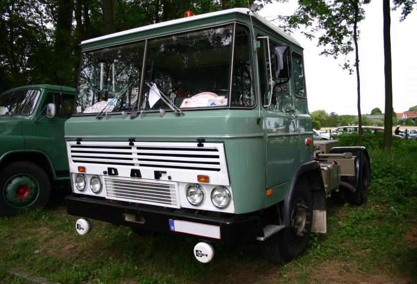 1962 DAF 2600, de eerste 'moderne' vrachtwagen
