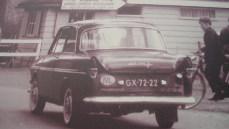 1962 DAF 33 GX-72-22