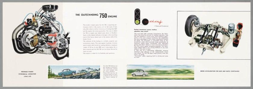 1962 DAF 750 Standaard & Luxe d