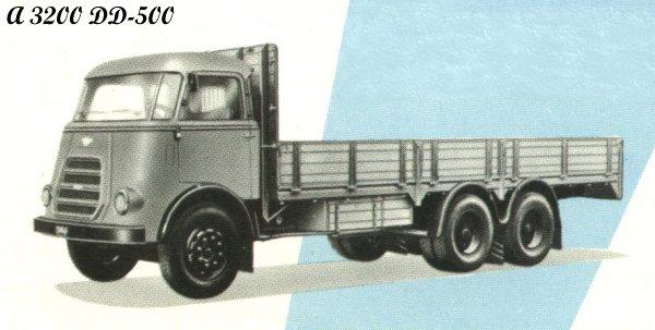 1962 DAF A3200DD-500