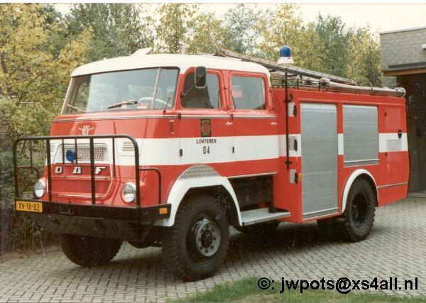 1962 DAF Brandweer Lunteren