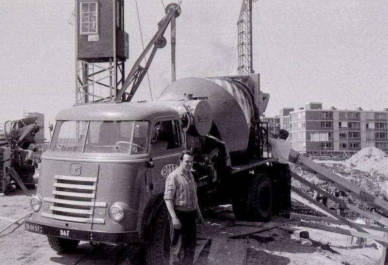 1962 Daf Cementwagen