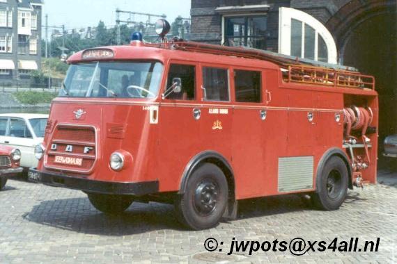 1962 DAF G1300 Brandweer Amsterdam