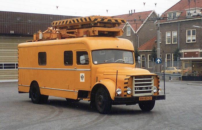 1962 DAF htm  bovenleidingwagen