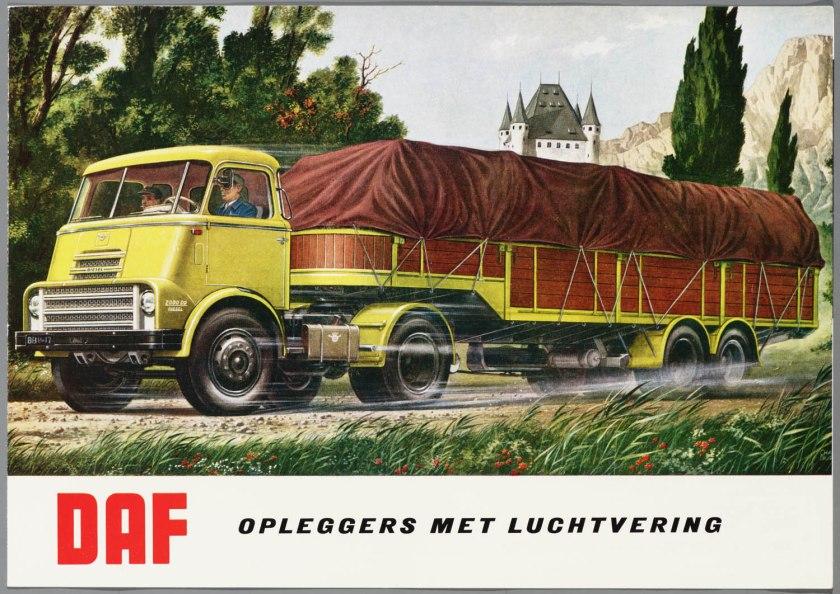 1962 DAF Opleggers met luchtvering a