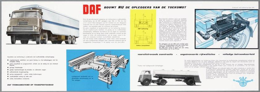 1962 DAF Opleggers met luchtvering b